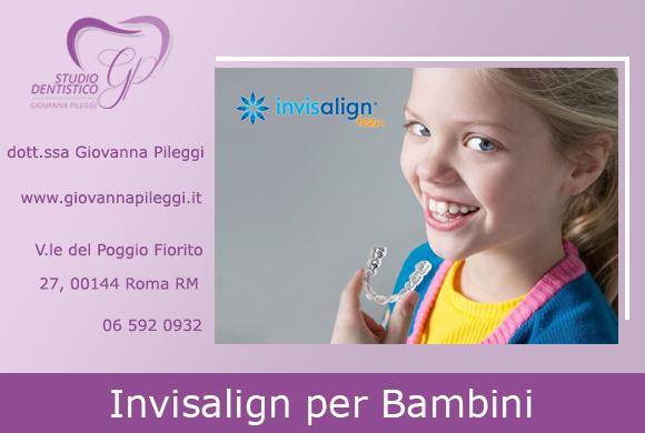 invisalign first apparecchio per i denti trasparente per bambini invisalign a roma eur viale del poggio fiorito 27