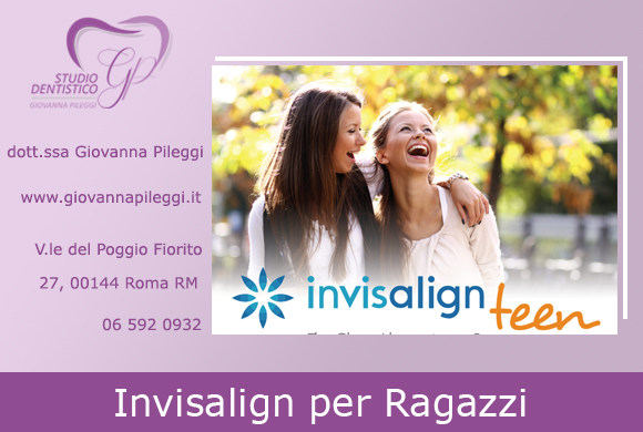 invisalign per ragazzi roma apparecchio per i denti trasparente roma eur