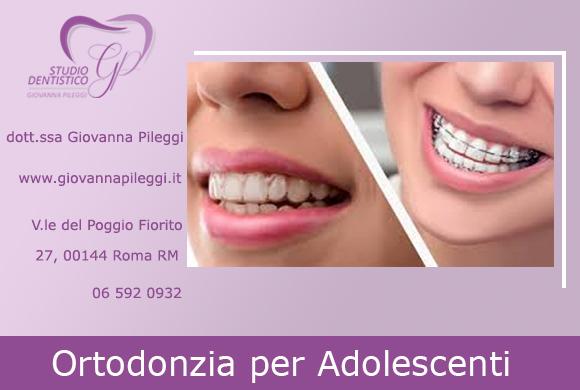 ortodonzia per adolescenti roma eur viale del poggio fiorito 27