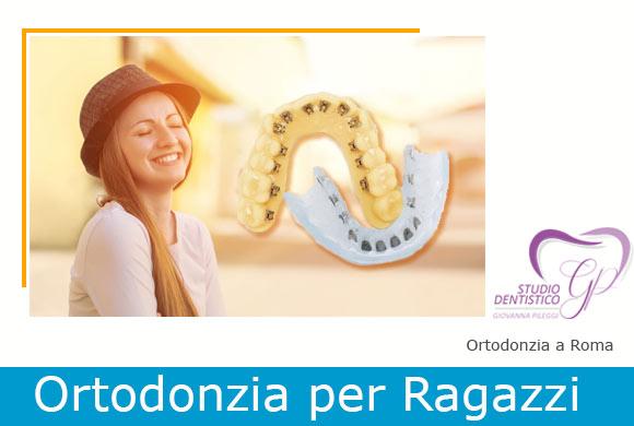 ortodonzia roma per adolescenti giovanna pileggi